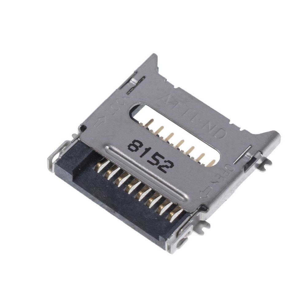 MCC-SIM//4 Steckverbinder für Karten SIM Push-Push SMD vergoldet PIN 8 ATTEND
